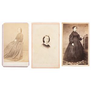 Civil War CDVs of Medical Staff, Including Mary Walker, CMOH