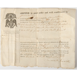 Dudley Family Archive, Incl. ca 1814 Document Referencing the Occupation of Eastport During the War of 1812