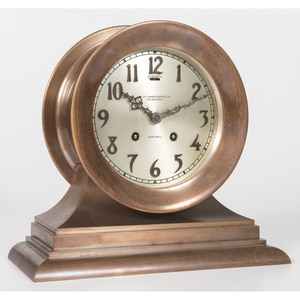 A Ships Bell Clock for Bailey, Banks and Biddle Co.
