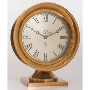 A Brass Ships Bell Clock