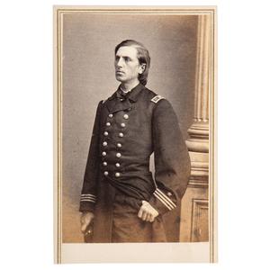 CDV of Lieutenant William B. Cushing, USN