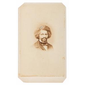 Frederick Douglass CDV by J.W. Hurn