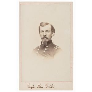 CDV of Nelson Miles as Major General