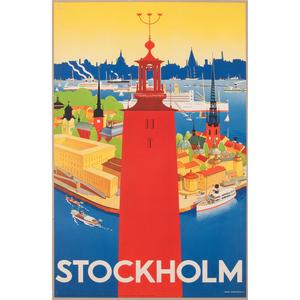 Iwar Donnér (Swedish, 1884-1964) Stockholm