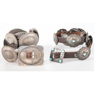 Navajo Concha Belts