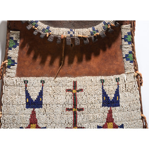 Arapaho Beaded Dispatch Case, From the Collection of Nick and Donna Norman, Colorado
