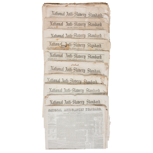 National Anti-Slavery Standard, Collection of Forty-One Issues
