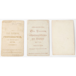 Circus and Sideshow Performers, CDVs of