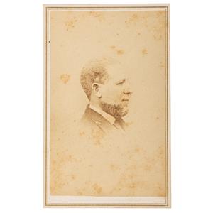 CDV of First African American United States Senator Hiram Rhodes Revels, Ca 1870