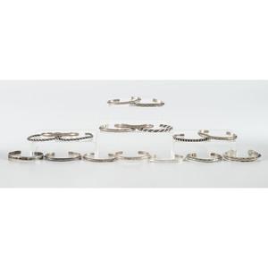 Navajo Silver Cuff Bracelets
