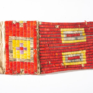 Sioux Quilled Hide Tobacco Bag, From the Collection of Nick and Donna Norman, Colorado