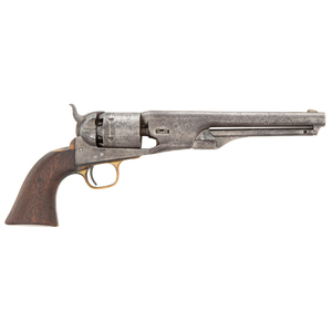 Martially Marked Colt Model 1861 Percussion Navy Revolver