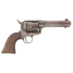 Period Shortened Ainsworth Inspected Colt Single Action Army Revolver