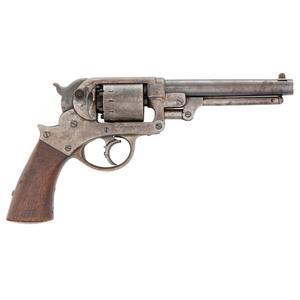 Martially Marked Starr Model 1858 Army Revolver