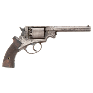 Martially Marked Mass Arms Adams Navy Revolver