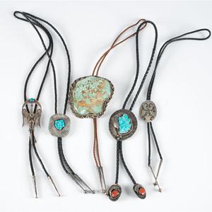 Navajo and Hopi Bolo Ties