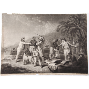 Slave Trade, Engraving by John Raphael Smith after George Morland, 1791