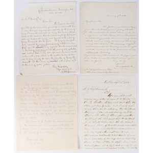 Adam John Glossbrenner, Manuscript Archive as James Buchanan's Personal Secretary,  1860-1861