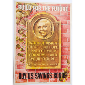 Build for the Future, United States Savings Bond Poster, 1945