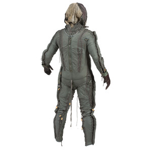 David Clark MC-3A Partial Pressure Flying Suit with Canvas Carrying Bag