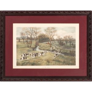 Two Sporting Prints After Haywood Hardy and C. D. Rowlandson