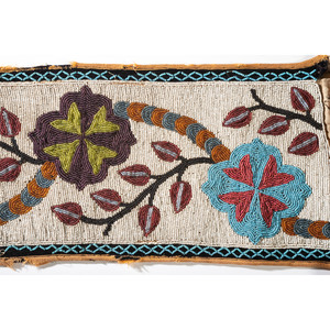 Anishinaabe Beaded Bandolier Bag, From the Stanley B. Slocum Collection, Minnesota