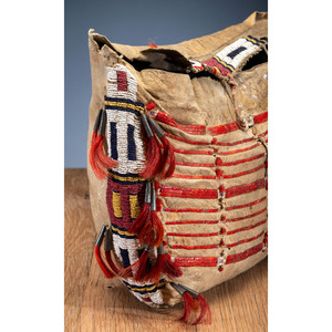 Sioux Quilled and Beaded Possible Bag, From the Stanley B. Slocum Collection, Minnesota