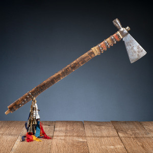 Western Great Lakes Pipe Tomahawk, From the Stanley B. Slocum Collection, Minnesota