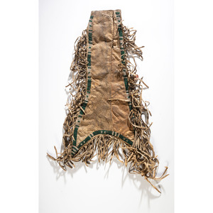 Southern Plains Beaded Hide Tobacco Bag, From the Stanley B. Slocum Collection, Minnesota
