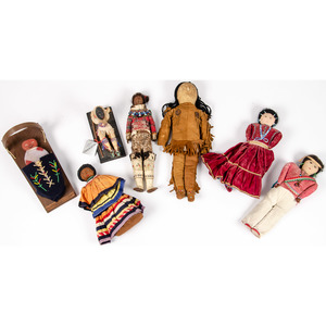 Collection of Native American Dolls, From the Stanley B. Slocum Collection, Minnesota