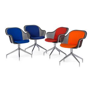 Antonio Citterio for B&B Italia Swivel Chairs