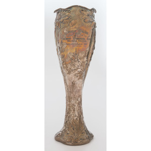 A Gorham Martele Vase with Cincinnati Significance