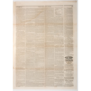 John Brown's Raid and Hanging Reported in The Liberator