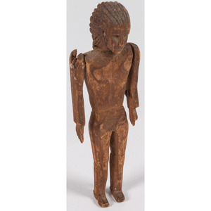 Penobscot Wood Doll