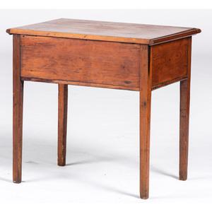 A Federal Pine Sugar Table