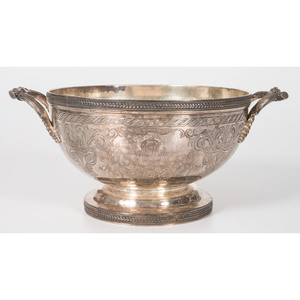 A Ball, Black & Company Silver Centerpiece Bowl