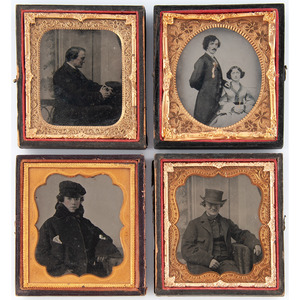 Daguerreotypes, Ambrotypes, and More