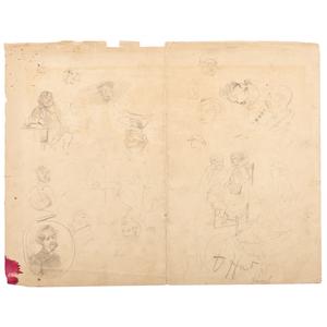 John Brown Execution Sketches by Albert Berghaus