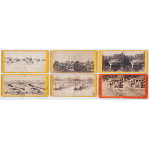 Brady/Anthony War for the Union Stereoviews, Lot of Six