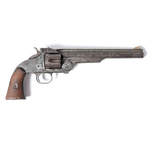 Smith & Wesson Model 3 American First Model Single Action Revolver