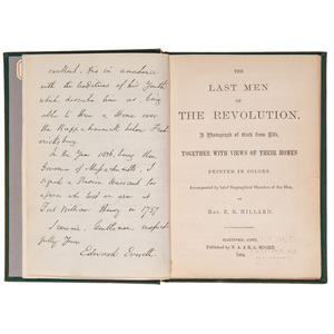 The Last Men of the Revolution: A Photograph of Each from Life