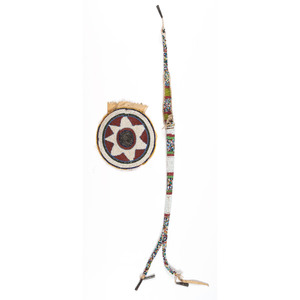 Sioux Beaded Awl Case and Pouch