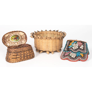 Northeastern Baskets and Purse