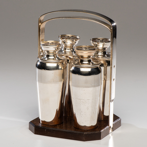 A Napier Company Foursome Cocktail Shaker Set