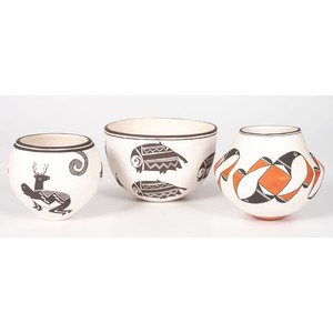 Lewis Family, Acoma Pottery