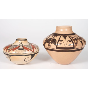 Clinton Polacca Nampeyo (Hopi, b. 1958) and Reva Polacca (b. 1964) Pottery