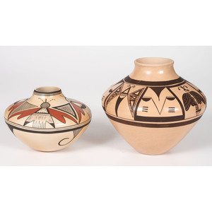 Clinton Polacca Nampeyo (Hopi, b. 1958) and Reva Polacca (b. 1964) Pottery