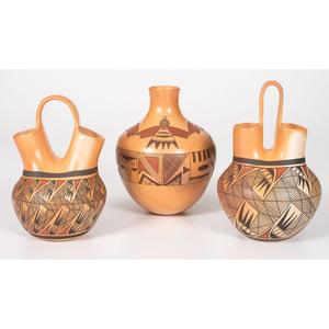 Reva Polacca Nampeyo (Hopi, b. 1964) Pottery