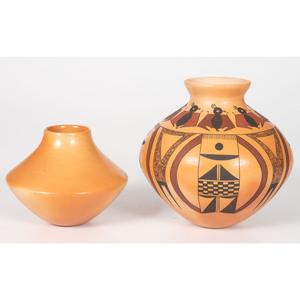 Mark Tahbo (Hopi, b. 1958) Pottery Vase, PLUS
