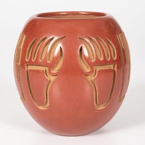 Anna Archuleta (Santa Clara, b. 1953) Pottery Jar